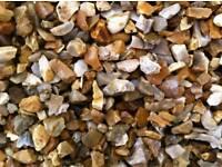 20mm golden gravel/decorative aggregates/nice decorative chipping/doncaster/rotherham/Sheffield