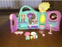 Littlest pet shop get better center play set with accessories and pets