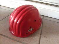 Petzl Red climbing helmets fully adjustable used but in nice clean condition