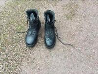 sturdy boots used for CCF