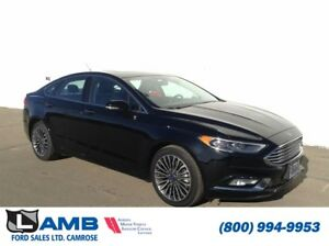2017 Ford Fusion SE AWD 2.0L Ecoboost Navigation Moonroof SYNC