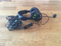 Turtle Beach x12 Earforce Xbox 360 Headphones