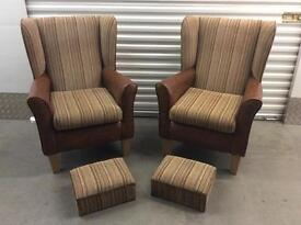 Matching armchairs with FREE DELIVERY