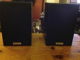 Goodmans Maxim 2 speakers.