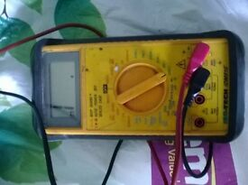 1000 volt Fluke multimeter with 1000 v leads, perfect working order. £30 tele: 07925477449