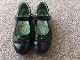 Start rite black patent shoes, size 12.5 F - with box