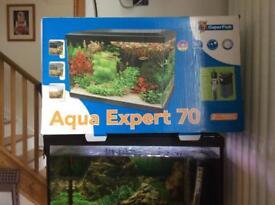 Aqua expert 70 black fully set up