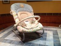 Chicco baby bouncer/rocker