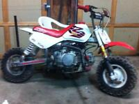 z50 converted to 140cc