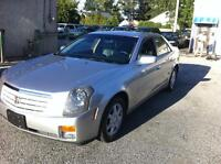 2007 Cadillac CTS Sedan - only 116,000 km.s  - LIKE NEW