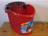 Mop Bucket Collection Only Red mop bucket by brand Vileda