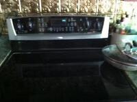 Whirlpool gold stove with convention oven