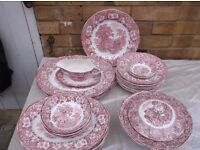 A large quantity of Wedgwood (Woodland) and Eternal Beau tableware surplus to our needs.