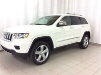 2012 Jeep Grand Cherokee Overland, Cuir, Navigation, Super Propr