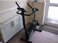 exersize bike hardly used ,very good monitor hart