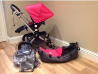 Bugaboo Cameleon 2nd Gen Full Package with Pram,Stroller Set. From brith to 4 years. Great Condition