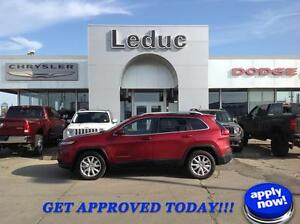 2015 Jeep Cherokee Limited V6 with Leather Remote Start and lots