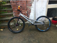 Custom competition trials bike