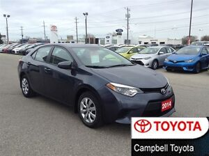 2014 Toyota Corolla LE HEATED CLOTH--REAR CAMERA--BLUETOOTH
