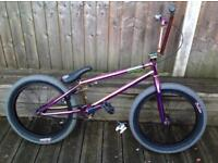 Mafia bikes madmain purple fuel Bmx... upgraded.. new