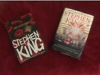 2x Stephen King Hardbacks