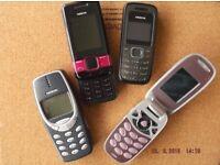 Assorted retro mobiles