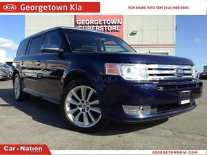 2011 Ford Flex LIMITED LEATHER | MOON ROOF | DVD | ALLOYS