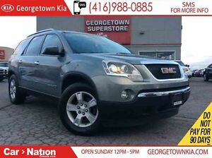 2008 GMC Acadia SLE | CLEAN CAPROOF | CAPTAIN CHAIRS |