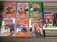 Set of 7 only fools and horses dvds