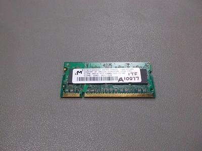 Micron Technology Mt16htf12864hy 667B3 Laptop Ram Memory   30 Day Warranty