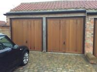 2 Garage Doors and 1 Electric Opener