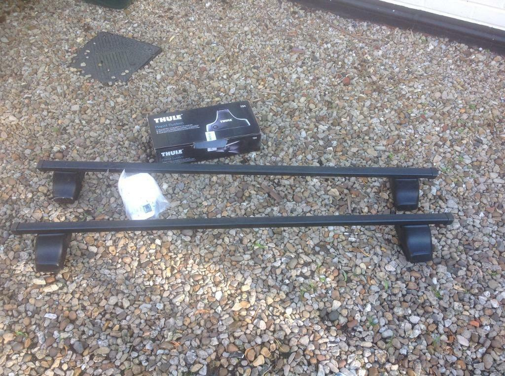 Thule Roof Bars For Audi A3 Inc 754 Foot Pack And Fitting