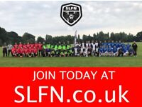 Weekend 11 aside football, teams looking for players, Get fit, lose weight. JOIN LONDON