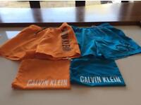 Boys Calvin Klein shorts. SOLD