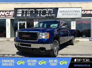 2014 GMC SIERRA 2500HD WT **Bluetooth, Crew Cab, Long Box, 4X4 *