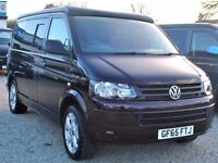 65 Plate Volkswagen VW Transporter 102 ps Pop top Conversion Camper Campervan