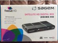 Freesat TV HD digital box with remote