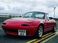 Supercharged 1.8 mk1 Eunos Roadster **RUST FREE**