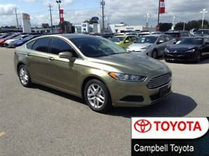 2013 Ford Fusion SE--2.5 L--LOW KM'S--HEATED CLOTH--ROOF