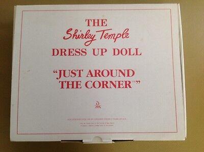 Danbury Mint 1996 Shirley Temple Dress Up Just Around The Corner .Box