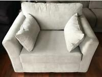 New Schreiber Sofa Bed Chair Retail £550!!