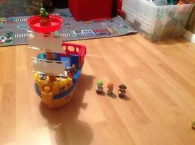 Fisher Price Toddlers Pirate Ship