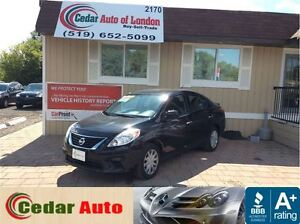 2014 Nissan Versa SV- FREE WINTER TIRE PACKAGE