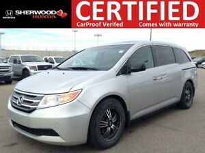 2012 Honda Odyssey EX-L w/DVD | PARK ASSIST| SUNROOF| LEATHER