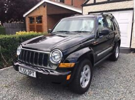 JEEP CHEROKEE 2.8 CRD LIMITED AUTOMATIC-FACE LIFT MODEL