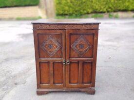 *reserved* - Vintage Cupboard / Cabinet - Beautiful, antique looking, sturdy furniture repair