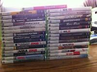Xbox 360 games for sale = 31 games total
