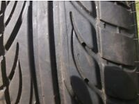 195 X 60 X 15 ACCELERA ALPHA TYRE X 1 , 91V RATING , GOOD COND GREAT TREAD AS,T AKEN OFF ALLOY WHL,