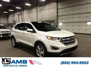 2017 Ford Edge Titanium AWD with Canadian Touring Package, Cold