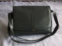 Vintage Real Leather Billie Dee Handbag